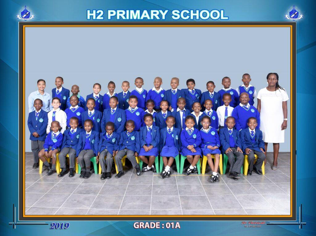 Class Photo Grade 1A 2019