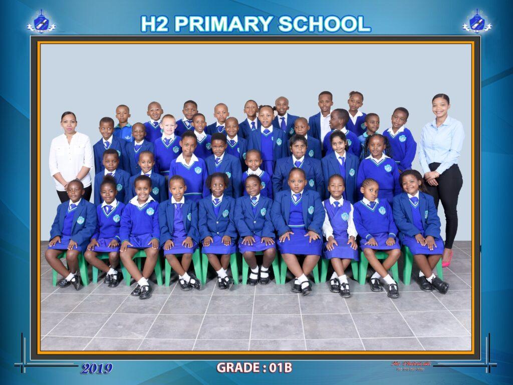 Class Photo Grade 1B 2019