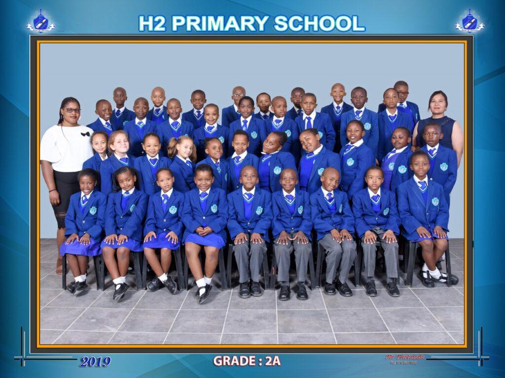 Class Photo Grade 2A 2019