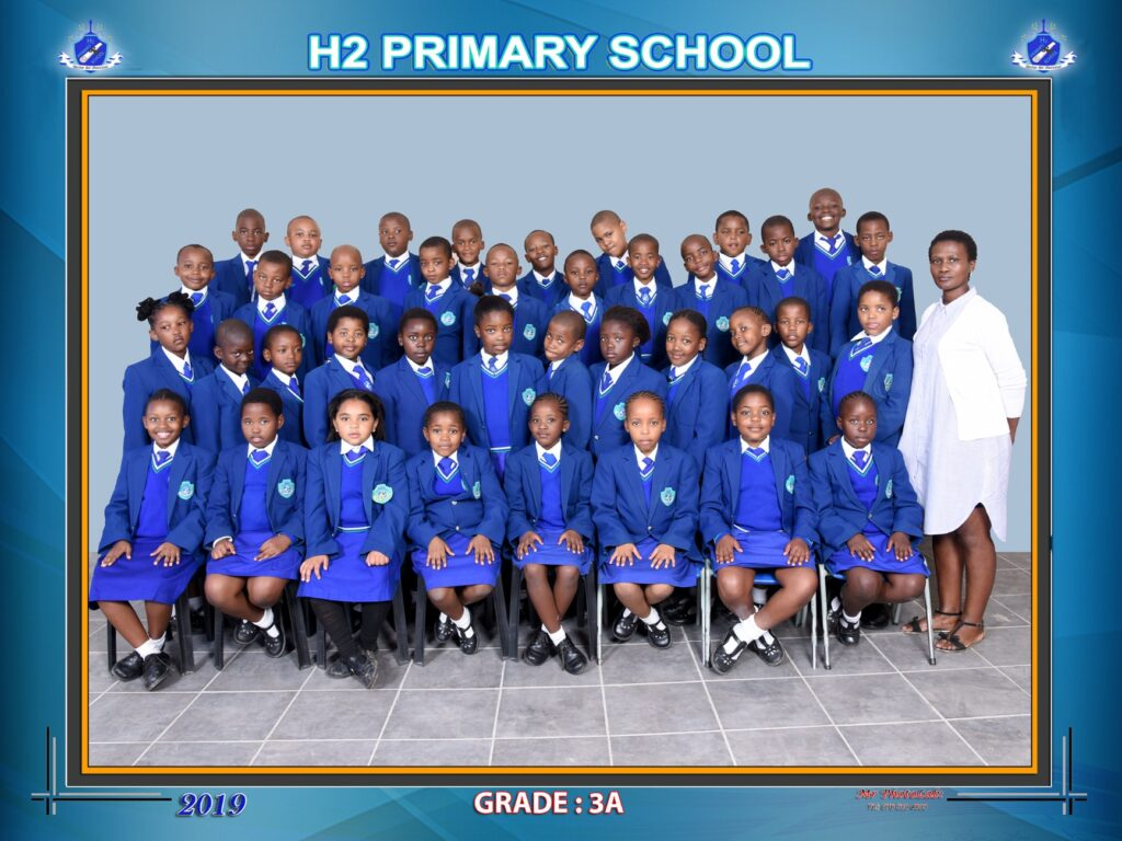 Class Photo Grade 3A 2019