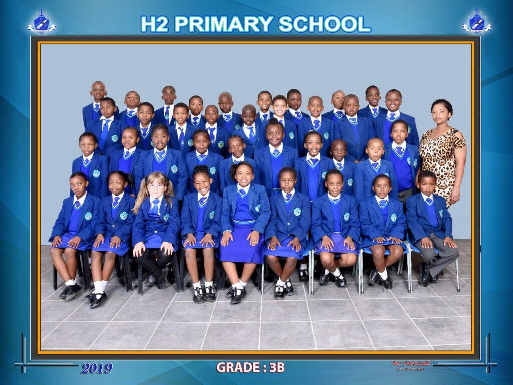 Class Photo Grade 3B 2019
