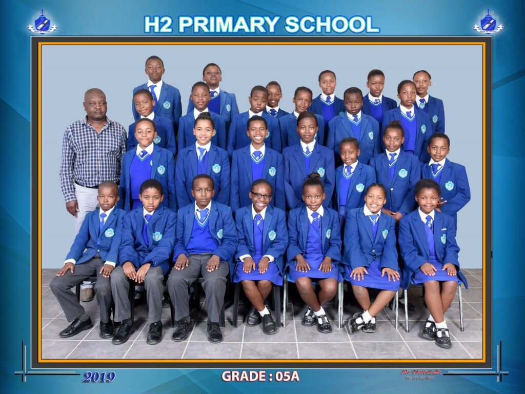 Class Photo Grade 5A 2019